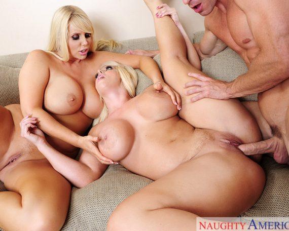 Michelle Lay Lesbian Threesome