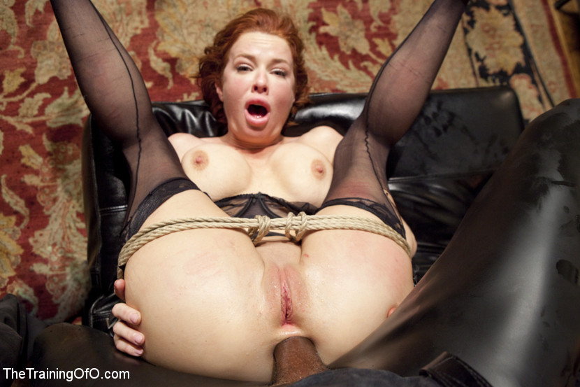 Rough Lesbian Anal Bondage