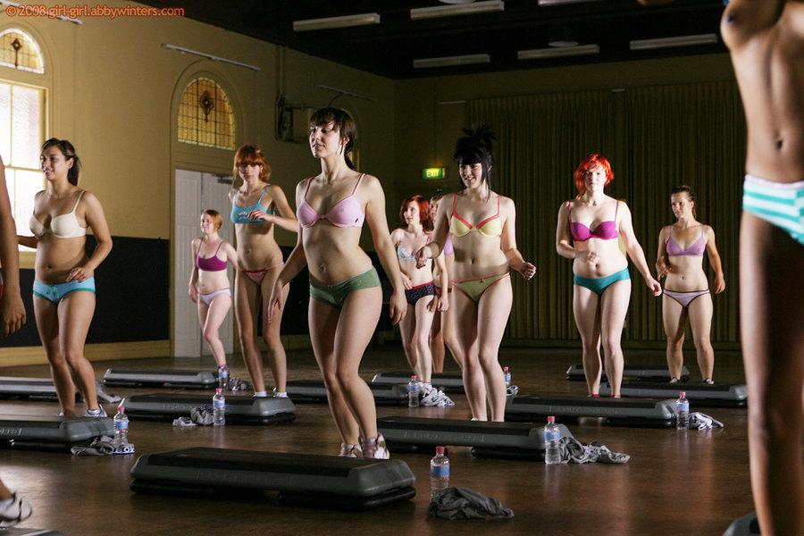 Woman do aerobics in nude mariah carey