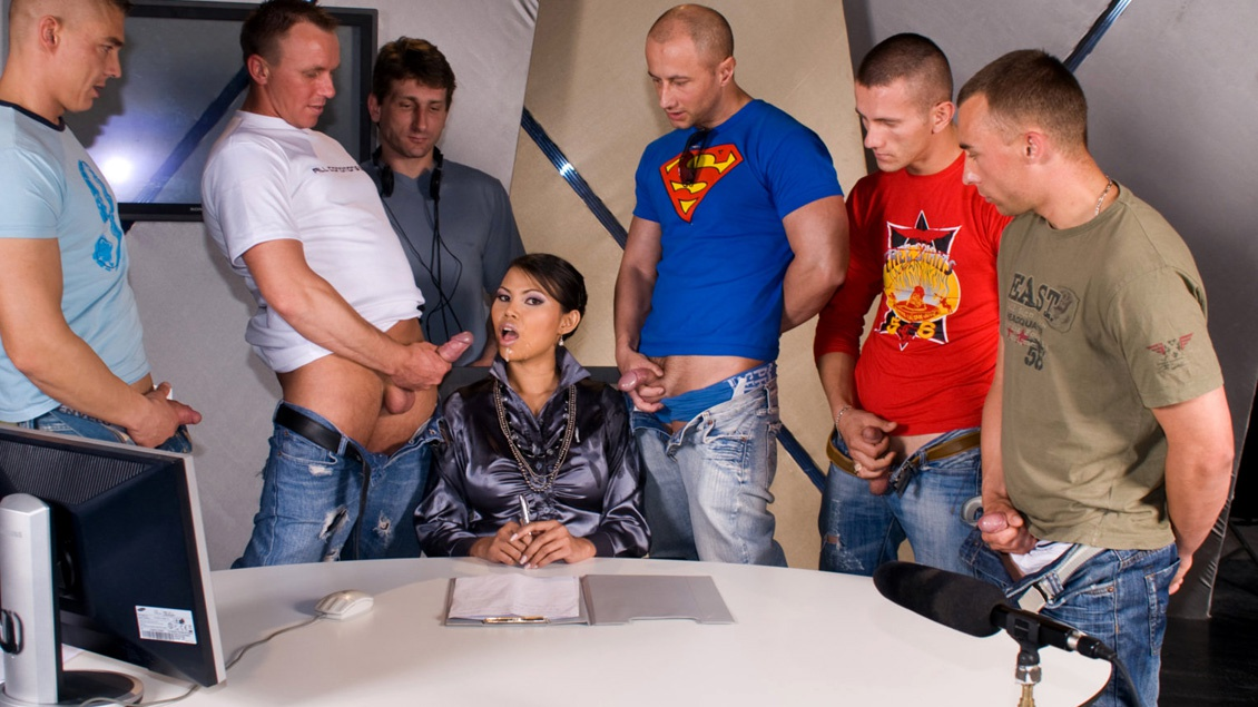 Woman dominates guy