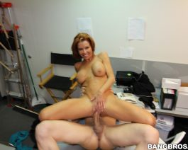 Veronica Avluv in  Backroomfacials Big tit MILF squirts in the backroom April 26, 2014  Swallow, Hardcore