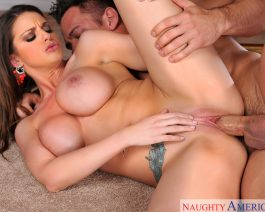 Brooklyn Chase in  Mydadshotgirlfriend Brooklyn Chase & Johnny Castle July 08, 2014  Cum On Tits, 69